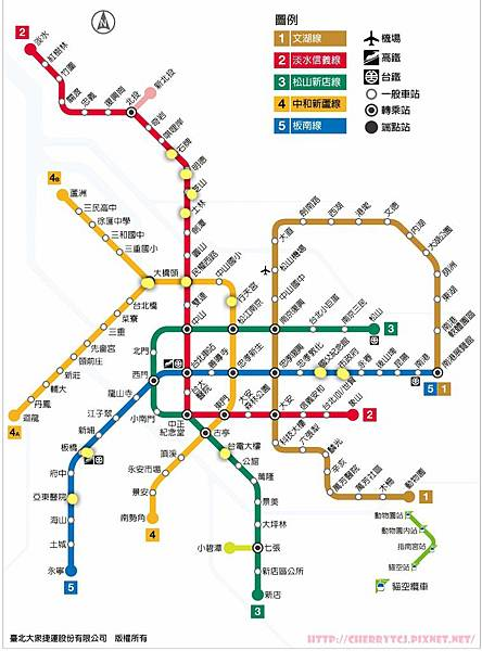 台北捷運蓋印章-2015Feb