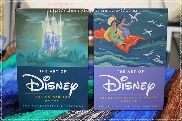 明信片-Disney套組2款