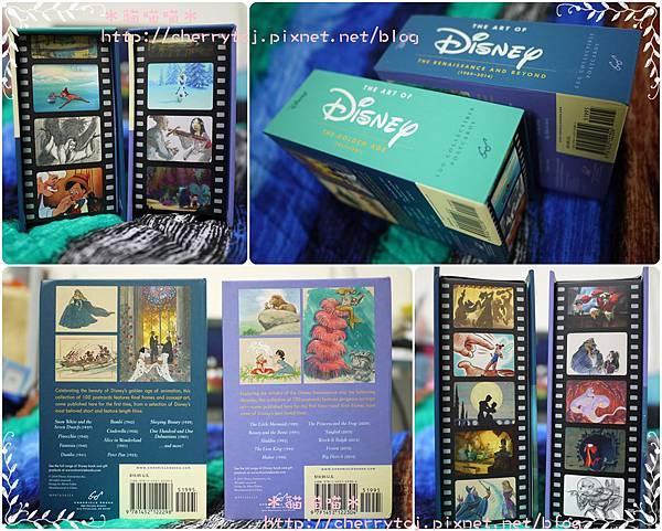 明信片-Disney套組2款-書背