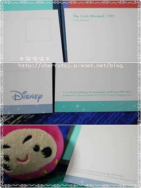 明信片-Disney套組2款-寫字面-角落特寫