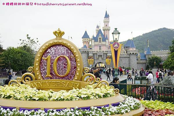 香港迪士尼10周年!