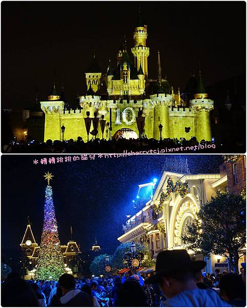 香港迪士尼Day1-閃亮慶典+聖誕亮燈
