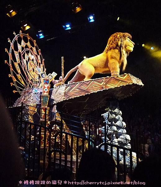 香港迪士尼Day2-獅子王慶典