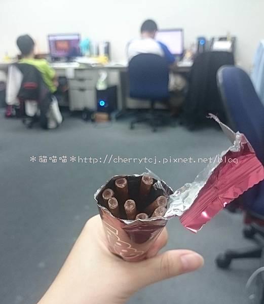 樂天TOPPO微苦巧克力棒-與Labmates共享