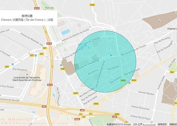 法國bnb-住處位置
