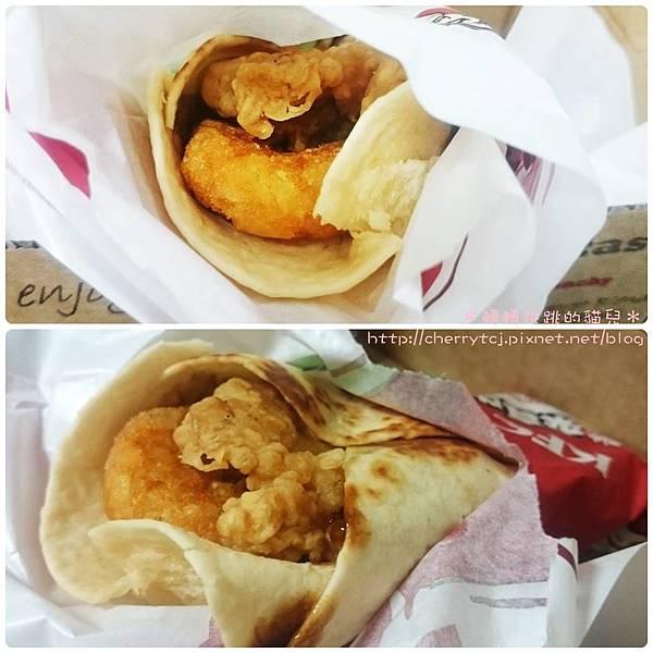 KFC-4美式煙燻薯餅雞腿捲