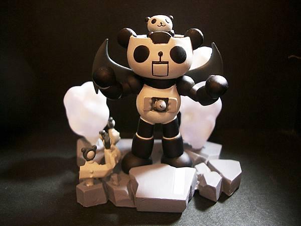 Panda-z 一代4號-2黑白版