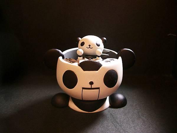 Panda-z 一代5號-2黑白版