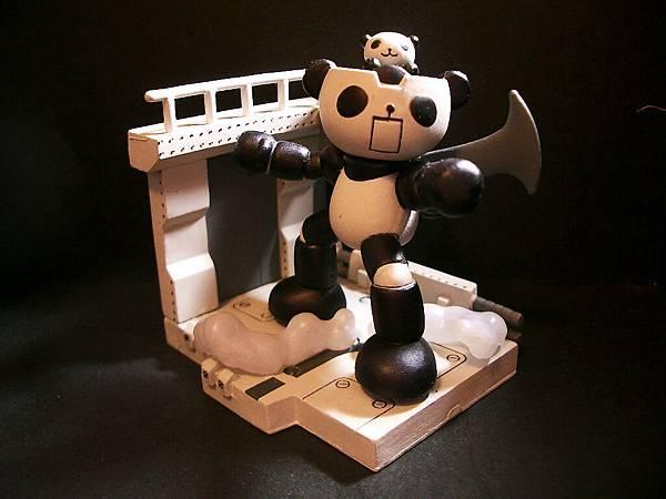 Panda-z 二代5號-2黑白版