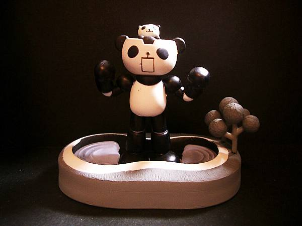 Panda-z 三代5號-2黑白版