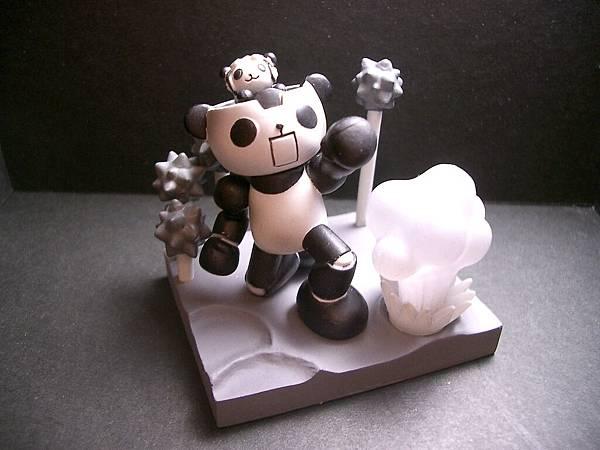 Panda-z 四代1號-2黑白版