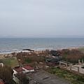 """第一晚入住位於艾伐列克的飯店,旁邊就是海景,什麼海? 冰友阿~ 是""""愛琴海""""啊! 地理課本裡的名詞都立體起來了,好不真實呀!"""