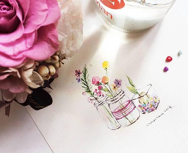 01玻璃瓶的幸福小花