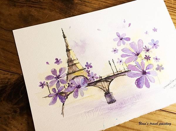 05巴黎的紫色
