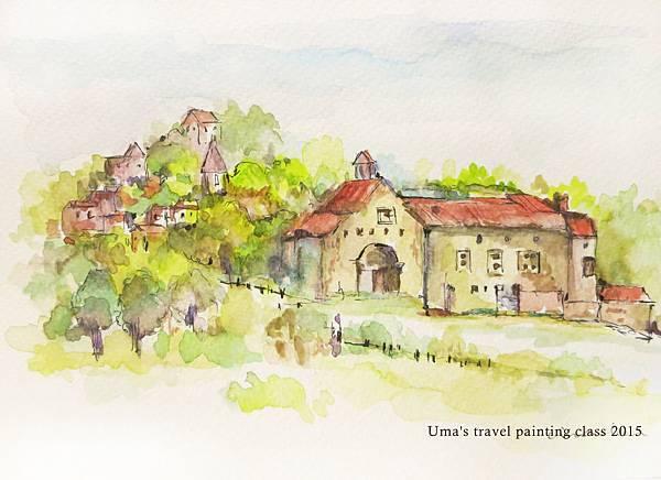 南法小村莊