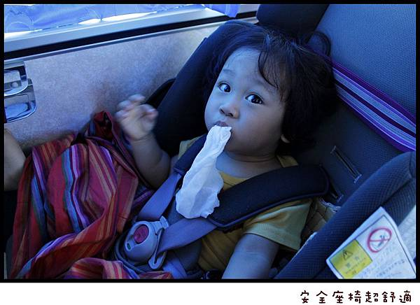 乖寶寶坐安全汽座
