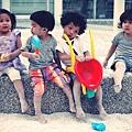 超可愛的四位小孩