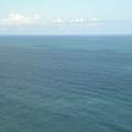 海的顏色好美