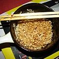 小龜給我泡麵吃