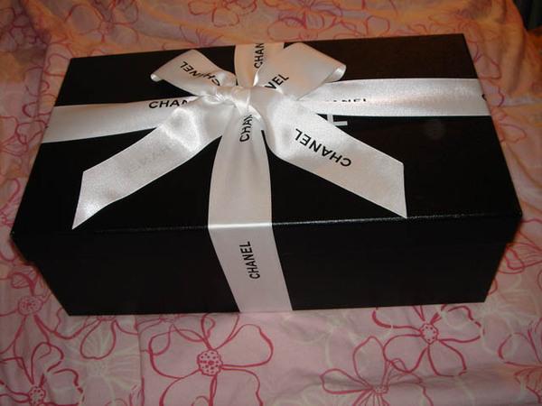 美美的Chanel包裝