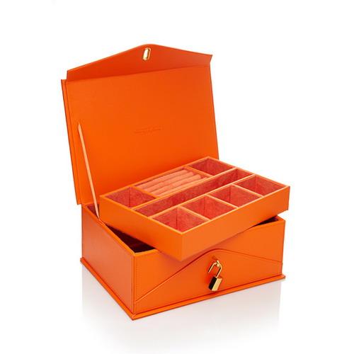 橘色珠寶盒