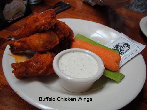 CJ buffalo wings