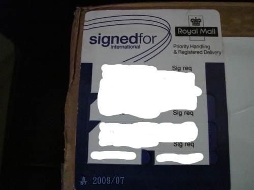 有熊出沒--英國郵政