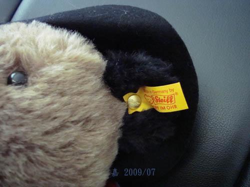 有熊出沒--paddington bear 3 金耳扣