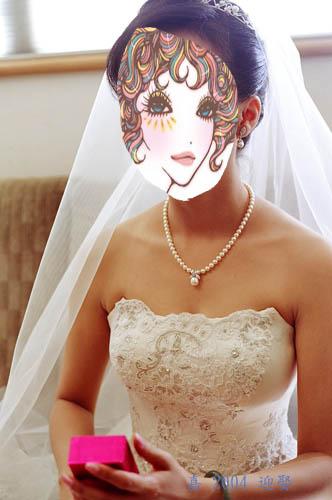 迎娶日--白紗