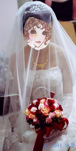 迎娶日--捧花