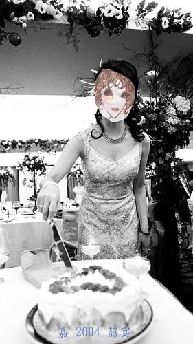 囍宴--粉紅敬酒羽毛禮服