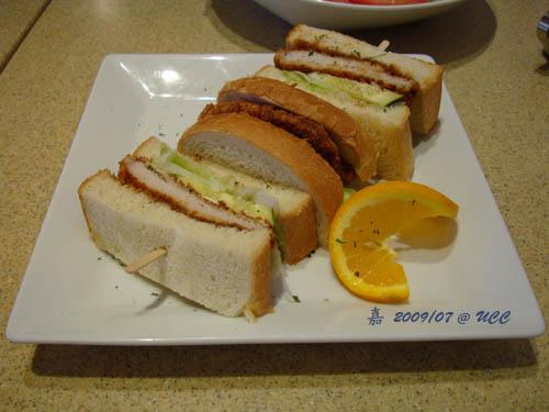 UCC--炸豬排三明治 1
