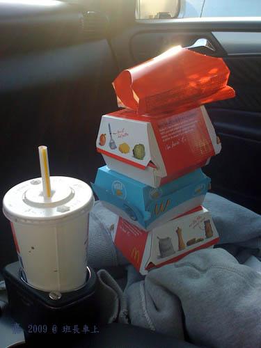 麥當勞--午餐