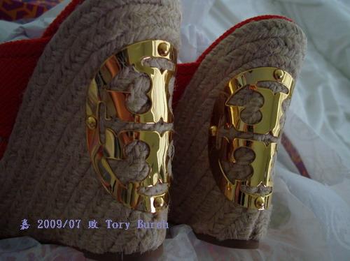 TORY BURCH--鞋跟LOGO 2