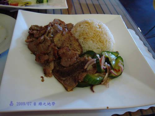 Green Zone - 烤豬排飯 1