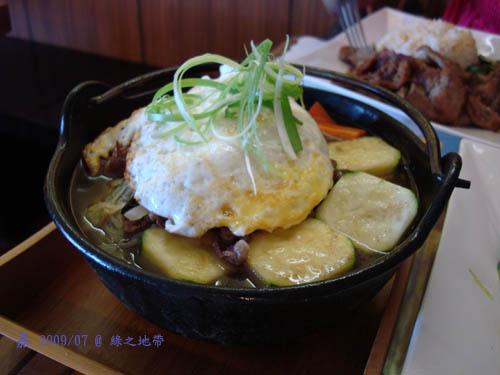 Green Zone - 牛肉壽喜鍋1