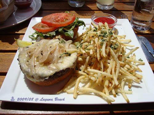 神戶牛肉漢堡1