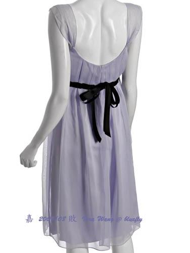 Vera Wang--empire dress--背面