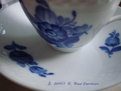 皇家哥本哈根--藍花杯2