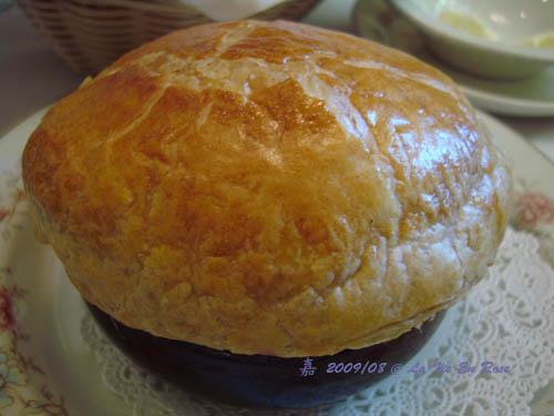 La Vie En Rose法式料理餐廳--磨菇濃湯