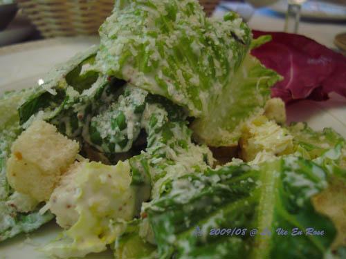 La Vie En Rose法式料理餐廳--凱薩沙拉