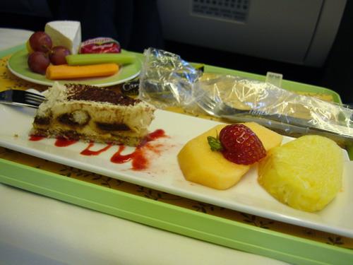 甜點和水果