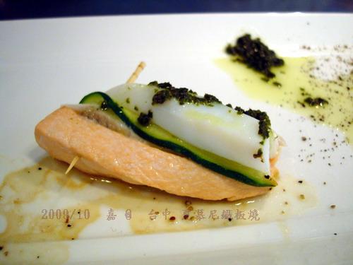 DSC03721-台中夏慕尼鐵板燒 鮭魚花枝海鮮卷.jpg