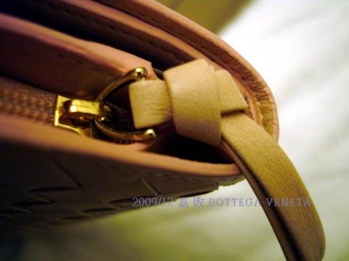 嘉的BV皮夾--側邊拉鍊頭