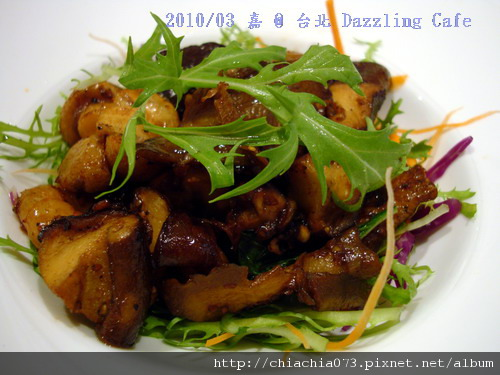 台北 Dazzling Cafe 匯炒磨菇蝦仁.jpg