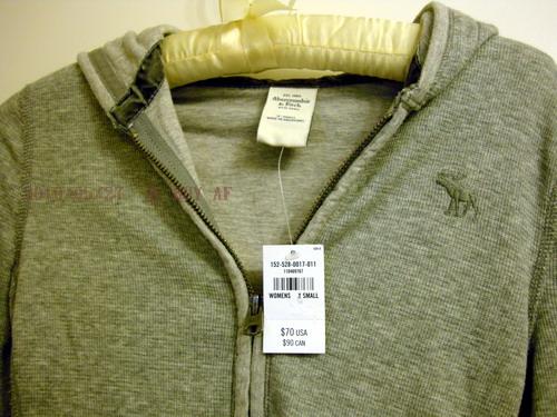 AF灰色短腰雙層薄外套2.jpg