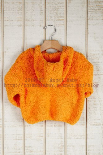 Angel Dear INFANT Soft Hooded Jacket - orange 4.jpg