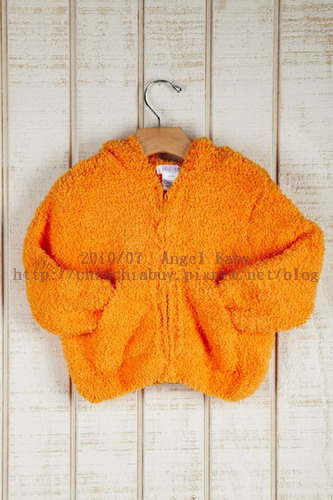 Angel Dear INFANT Soft Hooded Jacket - orange 3.jpg