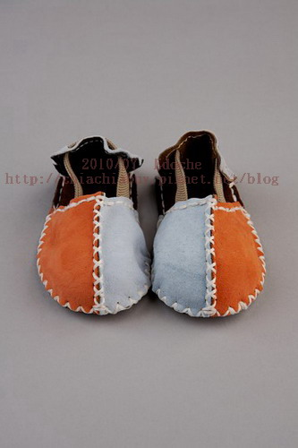 Sandal Booties - Blue Orange1.jpg