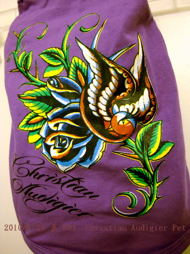 Christian Audigier 紫色和平鴿2